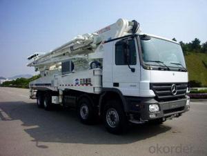 Concrete Pump Truck Camc 8*4 56m Cement