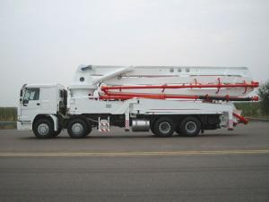 Concrete Pump Truck 56m , 56m Concrete Pump with Boom