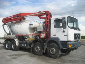Concrete Pump Truck Camc 39m 6*4 Cement