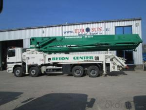 Concrete Pump Top Quality Camc Truck-Mounted  of 42meters