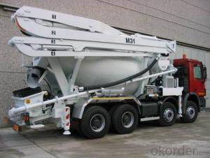 Concrete Pump Truck Hot Sale  of 24meters