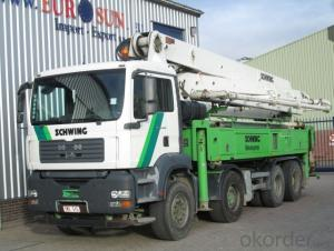 Concrete Pump 37m  380HP  Trucks with Rhd Type