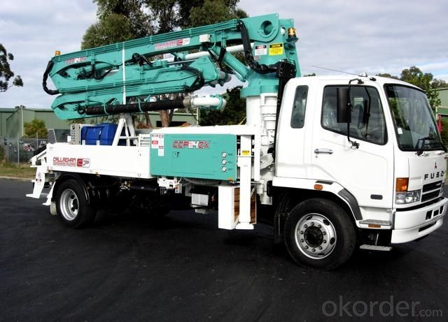 Concrete Pump Truck  Used Schwing (max height: 37m)