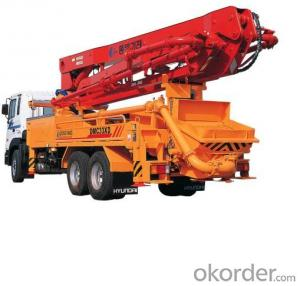 Concrete Pump Heavy  Truck with 37m Boom Length
