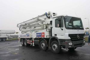 Concrete Pump Truck CE Approved   28m Truck  for Sale