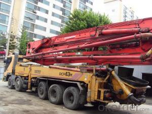 Concrete Pump Truck Cimc  / Concrete Pump (HB37/A/B)