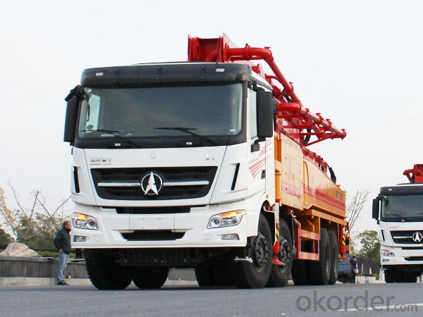 Concrete Pump Truck Hot Sale 37m Small  HB37A