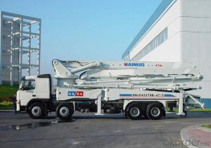 Concrete Pump 37m Truck Mounted with Chassis (HDL5270THB)