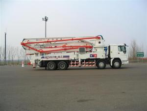 Concrete Boom Pump  Truck-Mounted  (HB48/A)