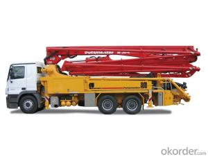 Concrete Pump Truck Hot Sale  of 24-58meters