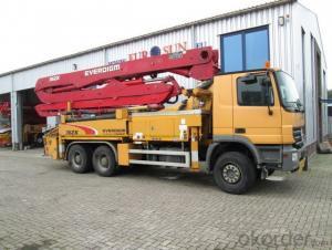 Concrete Pump Truck Diesel 161kw Rexroth