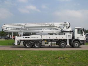 Concrete Pump Truck-Mounted  46m-51m