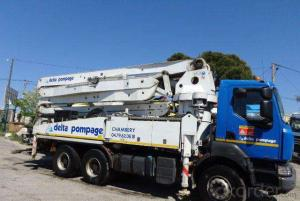 Concrete Pump Truck  48m Used Schwing  (2003, 350~450HP)