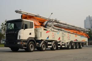 Concrete Pump Truck  52m with  Chassis ement Cyh52y