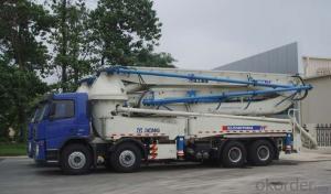 Concrete Pump Truck High Quality 56m Construction Site Use Concrete