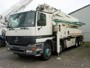 Concrete Pump  Good Quality 37m Truck-Mounted