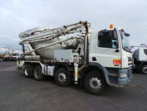 Concrete Pump Truck Chassis Used Schwing  for Africa