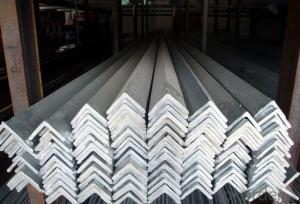 Equal-Unequal Grade CNBM Black & Galvanized Steel Angle Bar