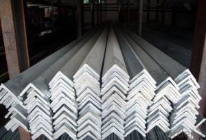 Equal-Unequal Grade CNBM Black & Galvanized Steel Angle Bar