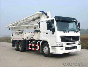 Concrete Delivery Pump 37m  Truck-Mounted  (HZZ5270THB)