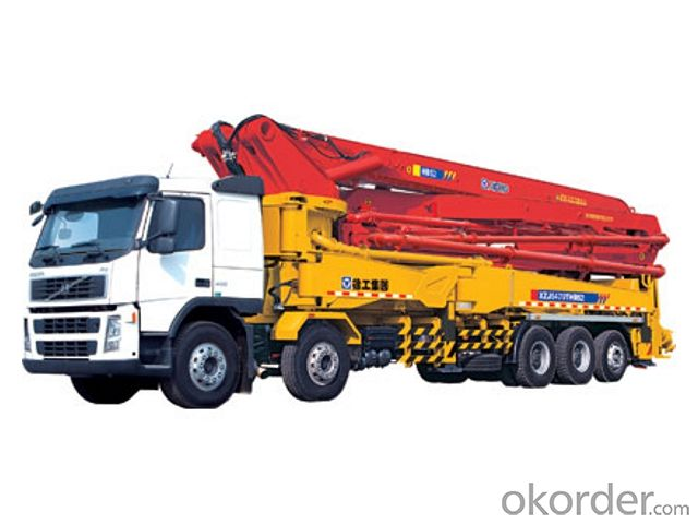 Buy Concrete Boom Pump 45m Truck Mounted Price Size Weight