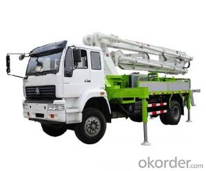 Concrete Pump Truck  45m 8X4 with Chassis