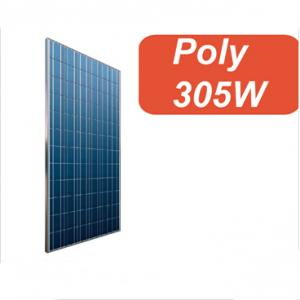 Polycrystalline  305W Solar Panel High Efficiency