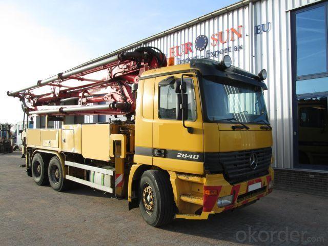 Concrete Pump Truck Hot Sale  (45m)