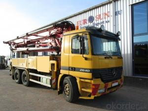 Concrete Pump Truck Hot Sale  (45m)