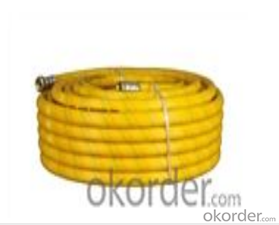 High Pressure Spray Hose   Color yarn weave type