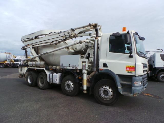Concrete Pump  Reachable Height 37m Truck-Mounted