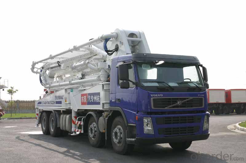 Concrete Pump Truck Camc 8*4 53m Cement  Cyh52y