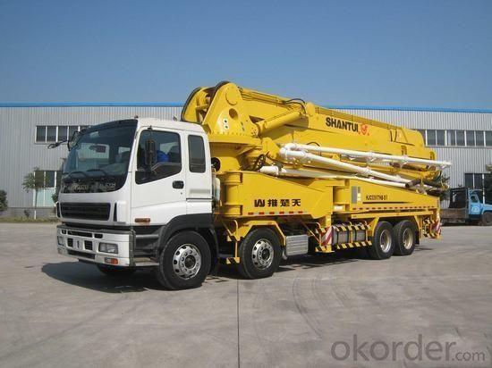 Concrete Pump Truck Best Price  of 24-58meters