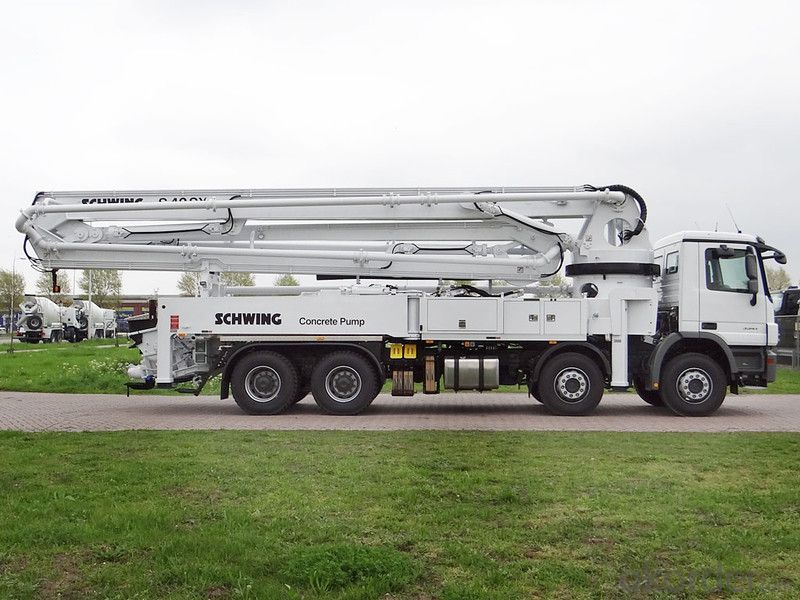 Concrete Pump Trucks 37m 380HP  with Diesel Engine (8X4)