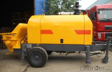 Concrete Pump Trailer Pump Electric Motor HBTS40