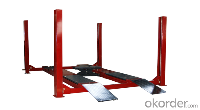CE Certified Repair Shop cheap four post car lift