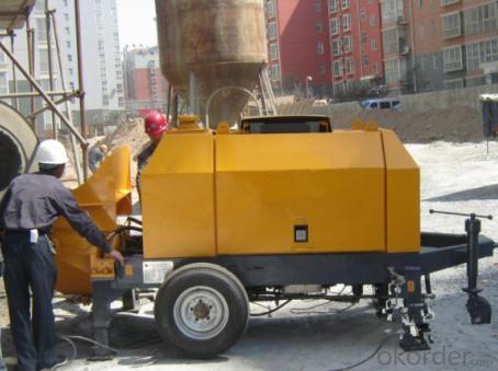 Concrete Pump Trailer Pump Diesel Engine HBTS45