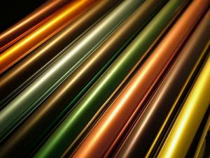 Metallization base PET film for Package