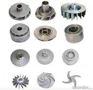 Casting Impeller for  Water Pump with High Quality