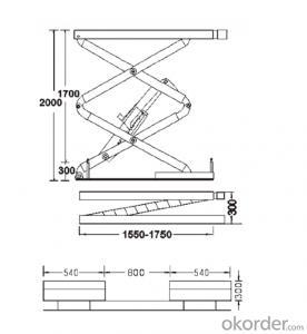 Four Post Car Lift/Hoist (Med4B)-High Quality