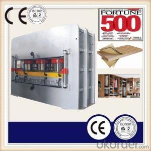 Semi-auto Press Machine for Melamine MDF