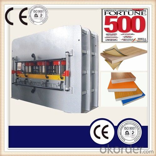 Hydraulic Hot Press Machine for Making Plywood