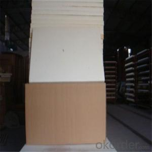 Insulation Ceramic Fiber White Board For Refractory Furnace &Kiln