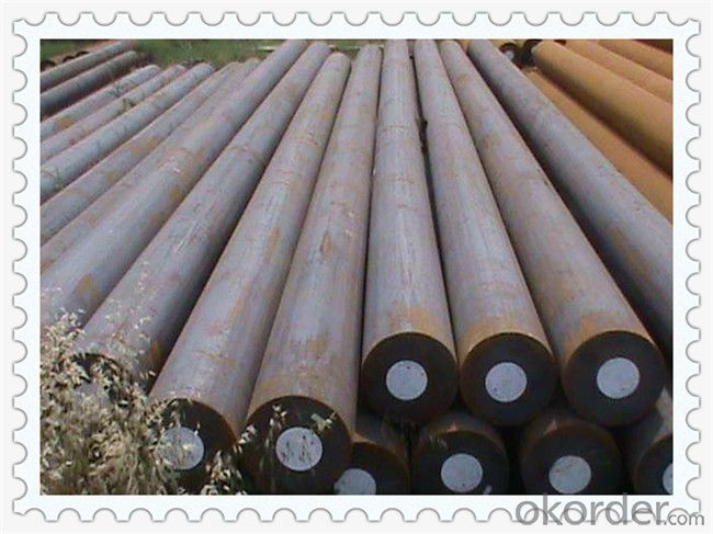Hot Rolled Mild Steel Round Bar Q235 Q345 Q235B Q345B