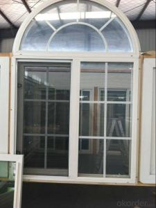 PVC Casement Window Manufacture with Low E glass