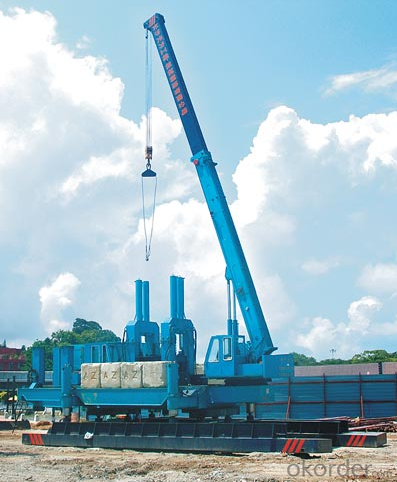ZYC600 Hydraulic Static Pile Driver Used Pile Driver Machine for Sale