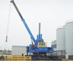 ZYC100 Used Pile Driver Hydraulic Static Pile Driver Machine for Sale