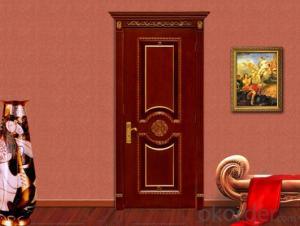 MDF door (YF-M23) Cheaper Price  Interior Door