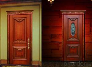 MDF Door with Custom Fashion Design Interior  Door
