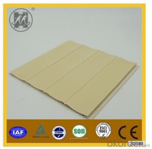 2014 New Design Laminated PVC Step Panel